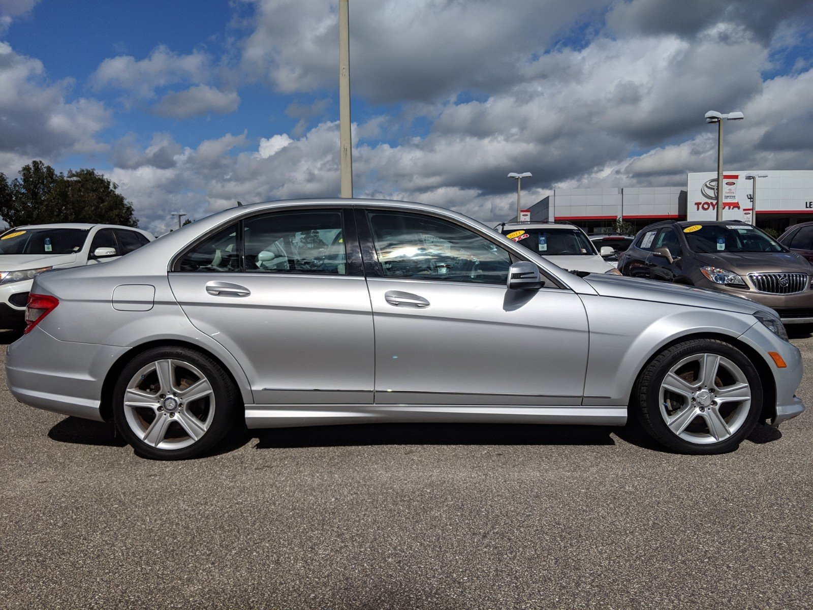 Pre Owned 2011 Mercedes Benz C Class 300 4dr Car In Tallahassee 2010 Toyota Corolla S Tinted Window